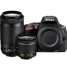Nikon Nikon D5500 DSLR with 18-55mm & 70-300mm Lenses