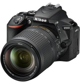 Nikon Nikon D5600 DSLR Camera with 18-140mm Lens (Black)