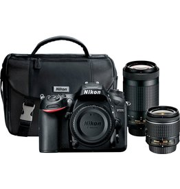 Nikon Nikon D7200 DSLR with 18-55mm and 70-300mm Lenses
