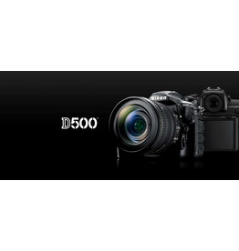 Nikon Nikon D500 DSLR with 16-80mm Lens (FREE MB-D17)