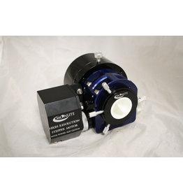 "MoonLite CS 2 inch format focuser for SCT/ RC/ Solar Scopes/ Tak Mewlon with Hi Res Stepper Motor w/Mini V2 Controller :Flange: 2"" SCT Tall FR Drawtube: .85 "" Color: BLUE"