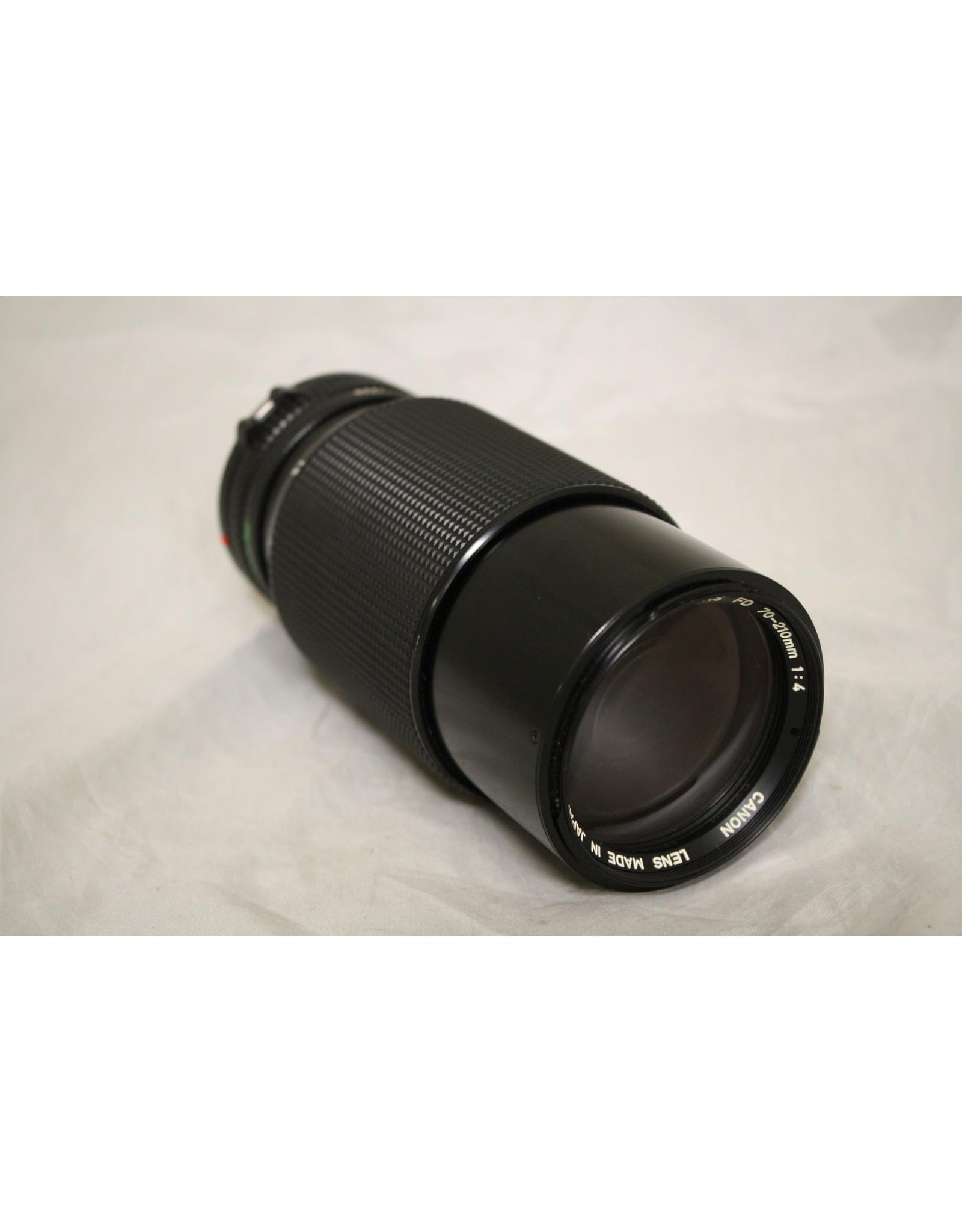 Canon 70-210mm Zoom Lens - 1:4 Film Camera Lens