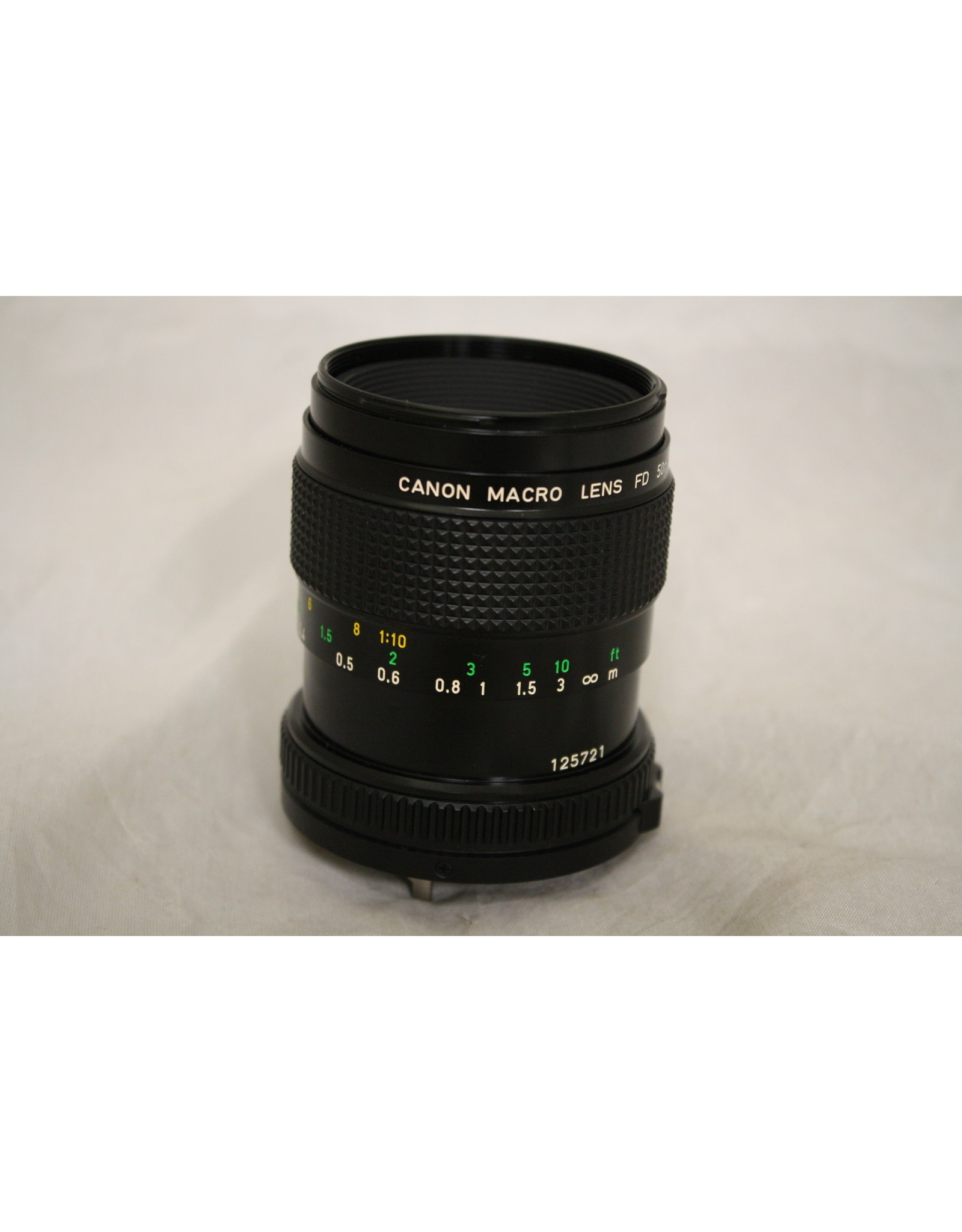 Canon 50mm Macro Lens For 35mm Film Cameras - 1:3.5