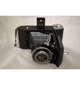 Zeiss Ikon Ikonta 524/2 6x9 RF with 105mm 1:4.5 Novar Anastigmat lens & case EXCELLENT!