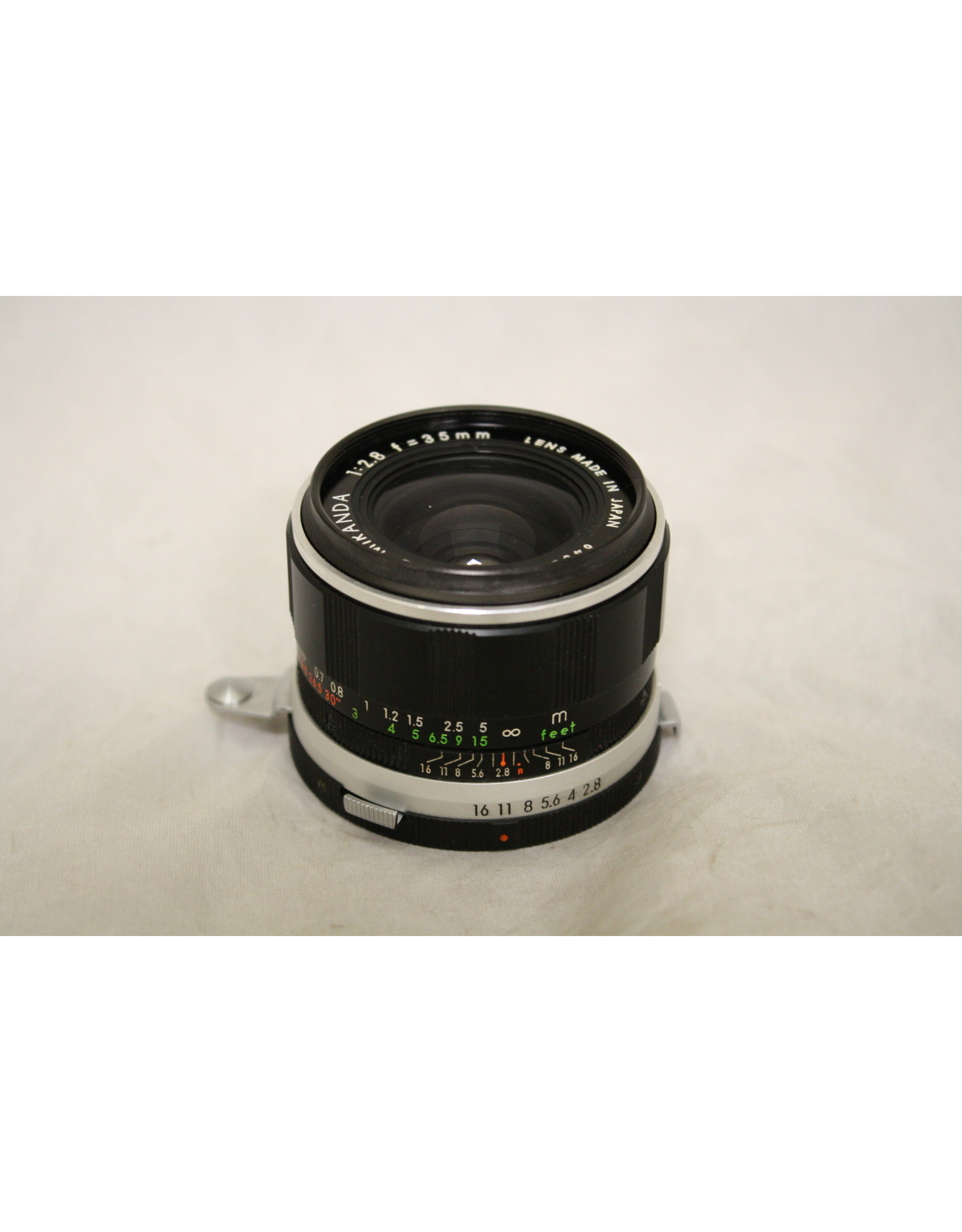 Auto Miranda 35mm 2.8 Film Camera Lens