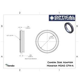 Astrodon Astrodon camera-side 3″ male adapter, 0.4″ long