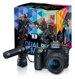 Canon Canon EOS 90D DSLR with Video Creator Kit