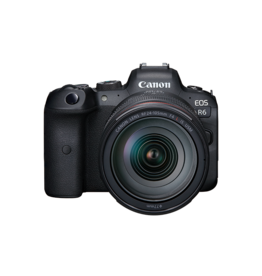Canon Canon EOS R6 Mirrorless Camera with RF24-105mm F4 Lens