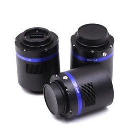"""QHY QHY 183M Monochrome Cooled Camera with CFW3S-SR-7 Filter Wheel for 31 mm or 1.25"""" Filters - QHY183M-CFW3S-SR-7"""