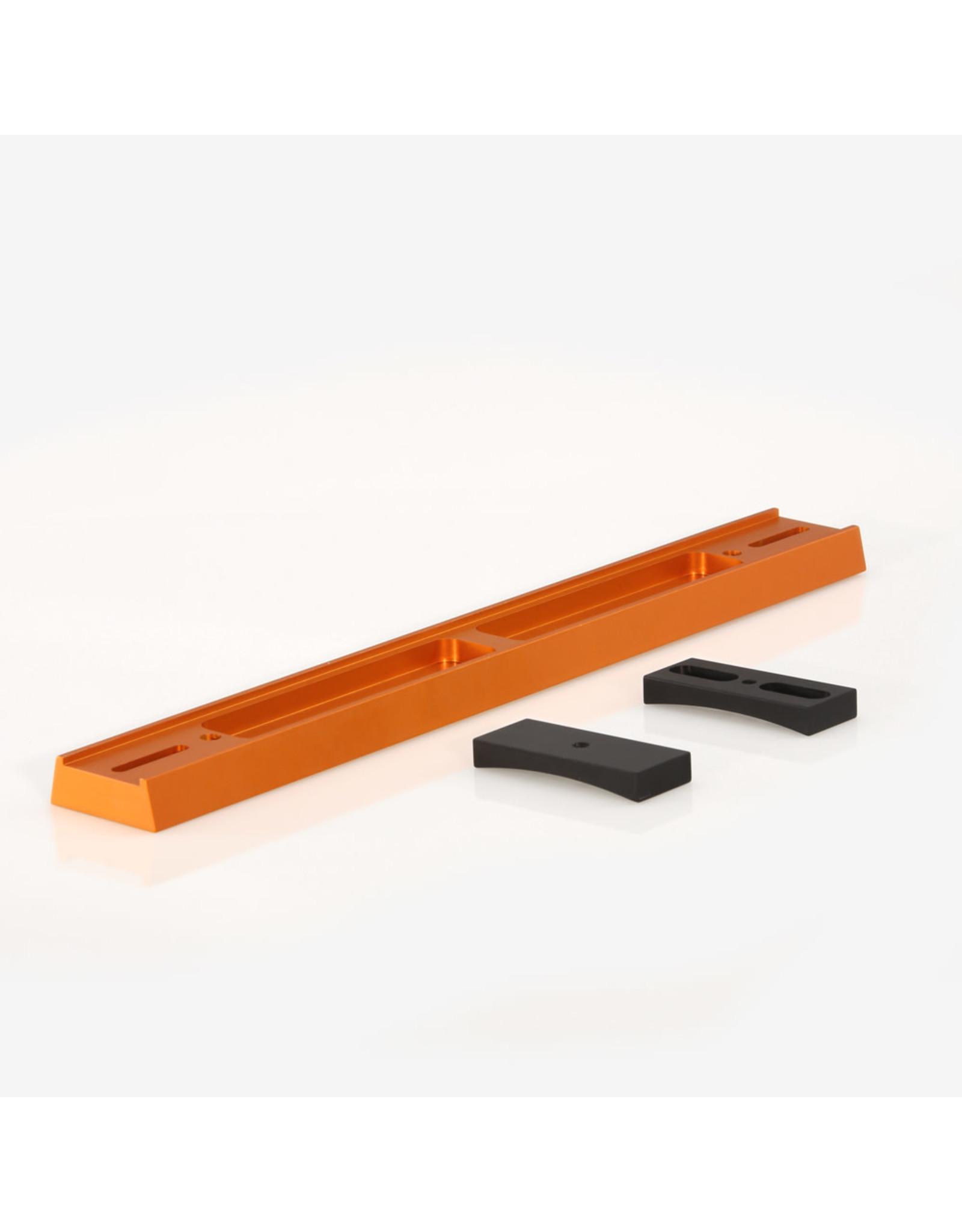 ADM ADM VC11-O- V Series Dovetail Bar for Celestron 11″ SCT Telescope. Orange Anodized