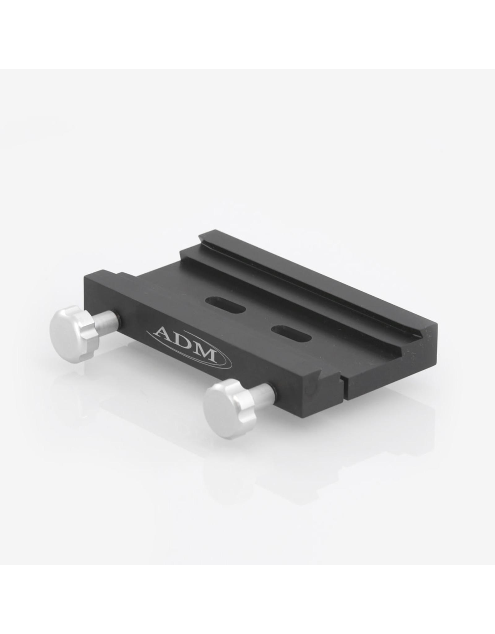 ADM ADM-DUAL-SLT8- DUAL Series Saddle. Slotted Hole Version for 8mm Socket Head