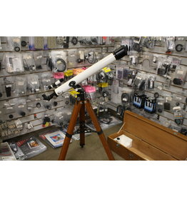 Stellar 60mm Refractor Telescope with Wooden Case (Pre-Owned)