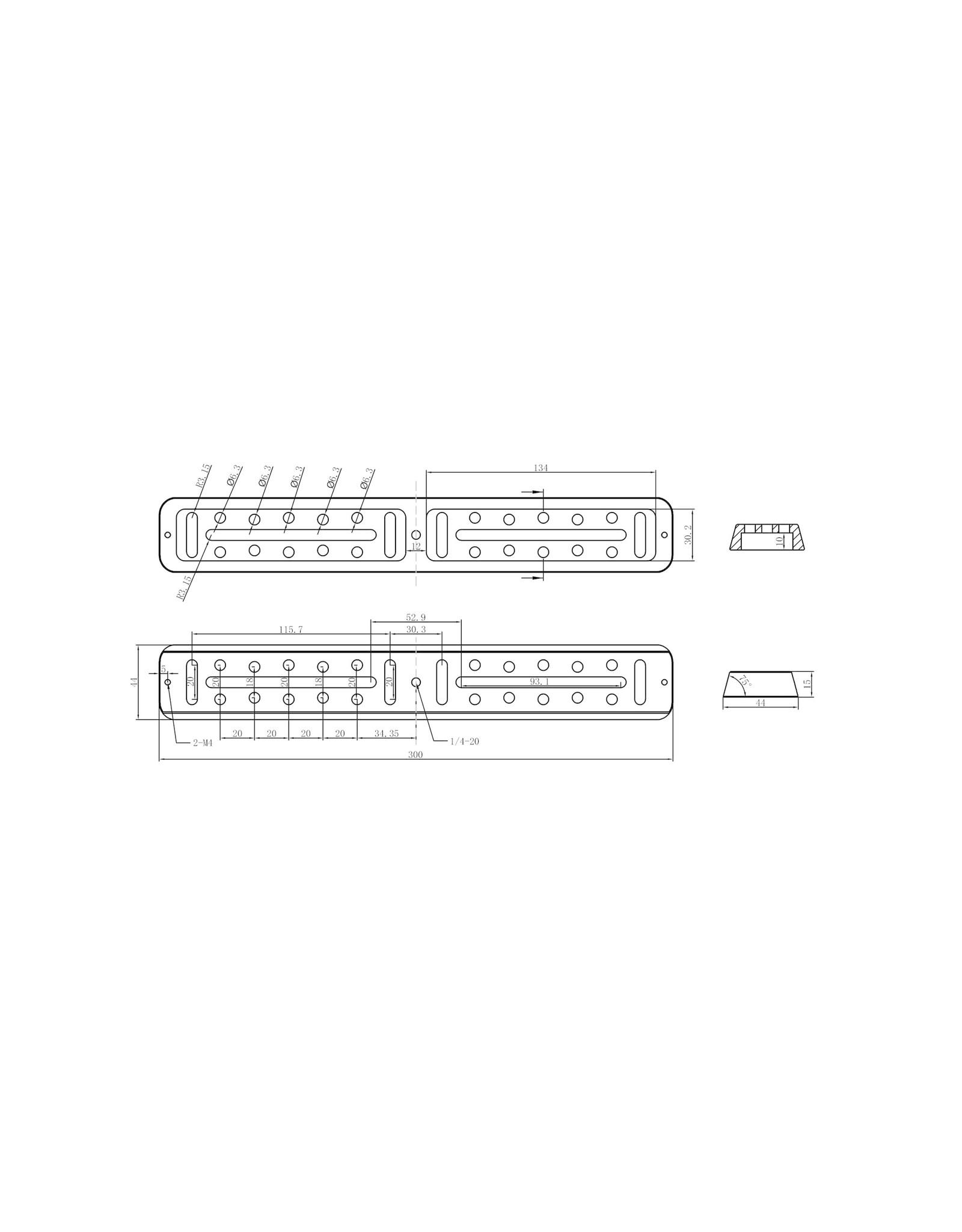 Askar Askar Vixen-Style Universal Dovetail Plate - SPECIFY Length