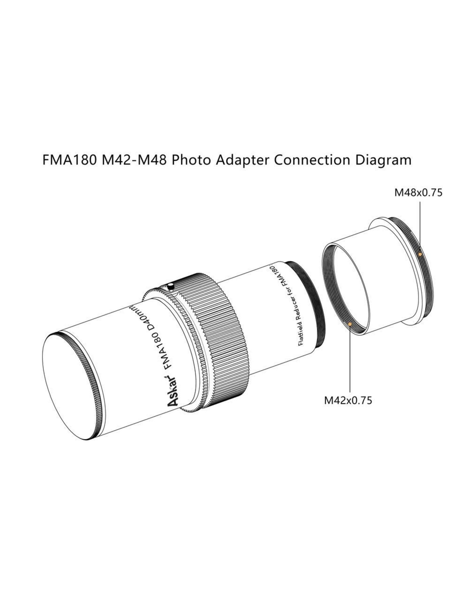 Askar Askar M42-M48 photo adapter for FMA180 - M42-M48