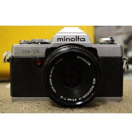 Konica Minolta Minolta XG1 with 45mm f2 Lens