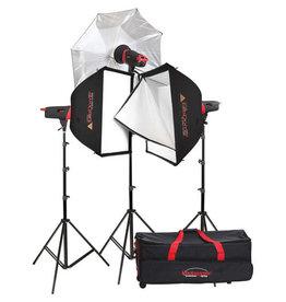 Photogenic Photogenic Matrix MCD400R 400Ws Monolight 3-Light Kit - 907006