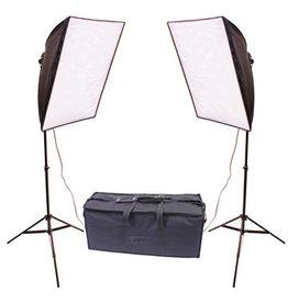 RPS Studio Dual Square Folding Softbox Kit - RS-4070