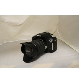 Pentax K110D 6.1MP Digital SLR Camera with 18-55mm Lens (Pre-owned)