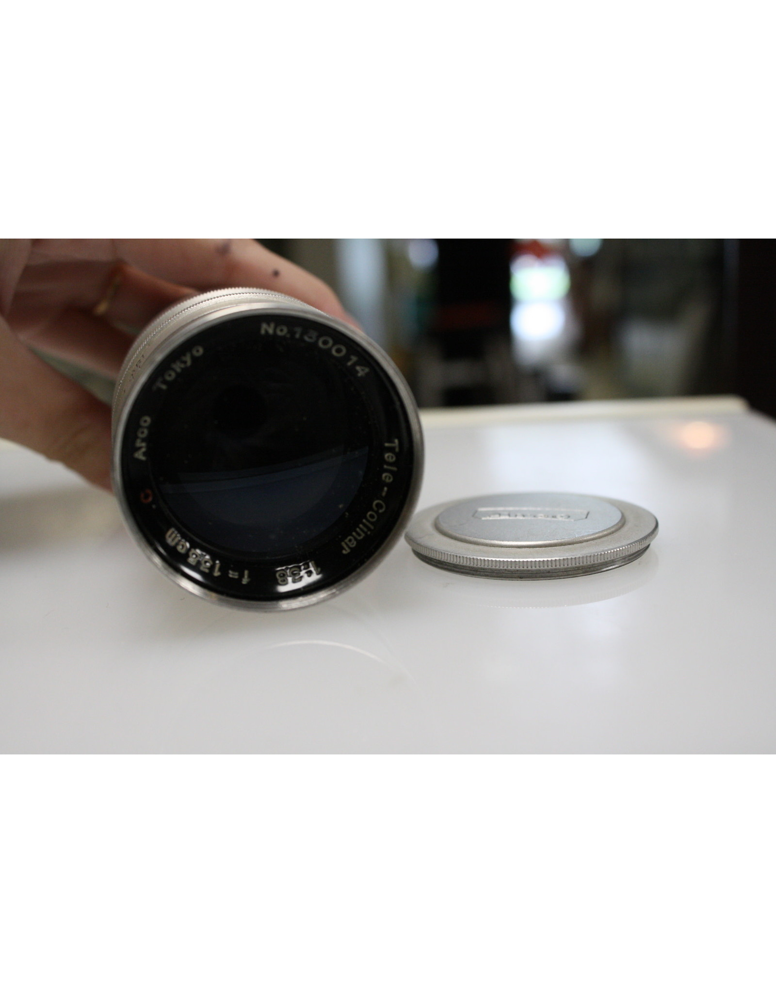 Arco C Tele-Colinar 135mm F3.8 for Leica M39 Mount with case