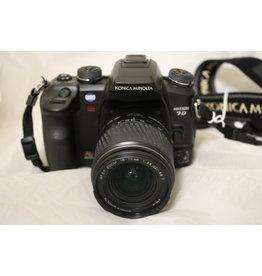 Konica Minolta Konica Minolta MAXXUM 7D 6.1MP Digital SLR Camera w/ 18-70 AF Lens (Pre-Owned)