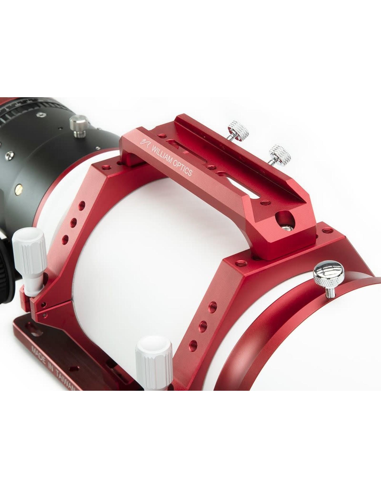 William Optics William Optics Fluorostar 120mm f6.5 with Innovative Bahtinov Mask Cover (Patented) (Specify Color)