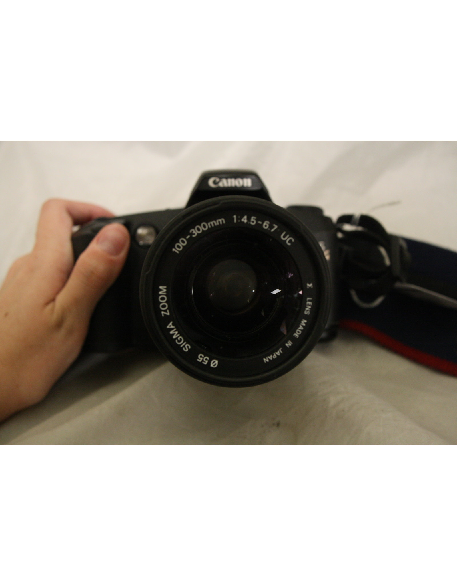 Canon Canon EOS Rebel G 35mm Film Camera with Sigma 100-300mm Lens