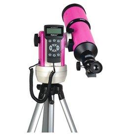 iOptron iOptron SmartStar-R80 Computer Telescope with GPS (Pink)