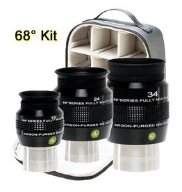 Explore Scientific Explore Scientific Argon Purged 68° Series Waterproof Eyepiece Kit
