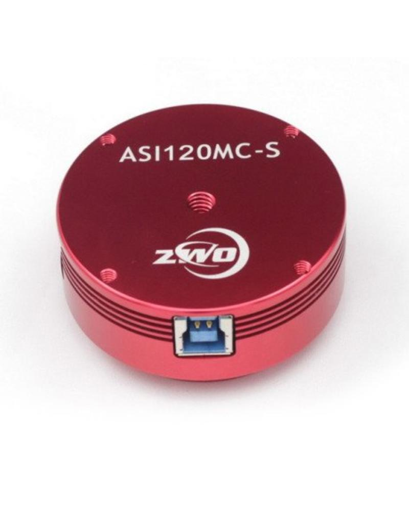 ZWO ZWO ASI120MC-S Color (3.75 microns) Astronomy Camera with USB 3.0 Connection