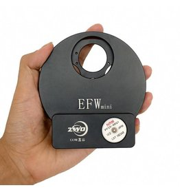 "ZWO ZWO EFW Mini Electronic Five-Position Filter Wheel - 1.25""/31mm"