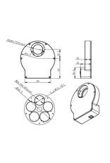 "ZWO ZWO EFW Mini Electronic Five-Position Filter Wheel - 1.25""/31mm"