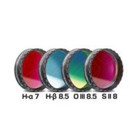 "Baader Planetarium Baader Set of 4 Narrowband Filters (H-a/H-b/O-III/S-II) 1.25"""