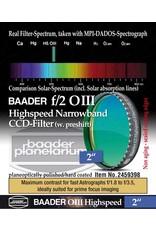 Baader Planetarium Baader f/2 Highspeed O-III Narrowband CCD Filter