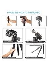 """Bower Bower VT6000 Duo 60"""" Tripod/Monopod Combo"""