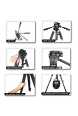 "Bower Bower VT6800 72"" Heavy Duty Photo/Video Tripod (HOLIDAY SALE!)"