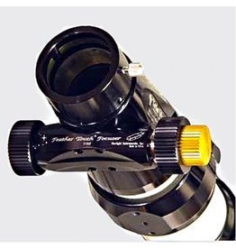 Feathertouch Feather Touch MPA-TEL0Bb---Micro Pinion Assembly retrofit for TeleVue (pre 2005 OTA) Brake, with CHROME draw tube