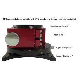 Moonlite MoonLite CRL 2.5 inch Large Format Crayford Newtonian Focusers (Specify Drawtube, Flange, & Color)