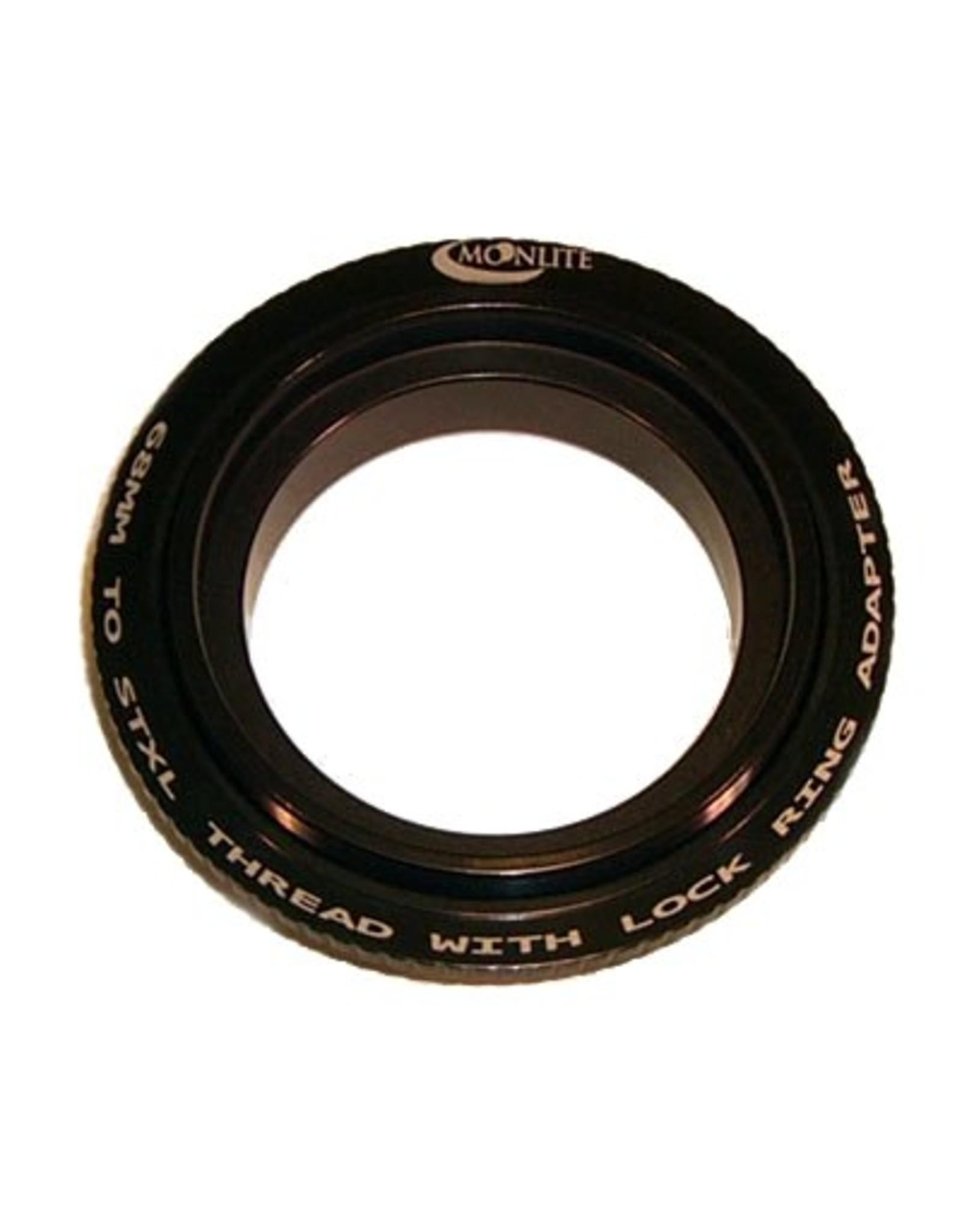Moonlite MoonLite 2 1/2 inch 68mm thread to STXL camera thread with Lock Ring Adapter (Model 68mmto-STXL-thread-LR-Adapter)