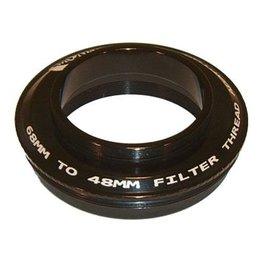 Moonlite MoonLite 2 1/2 inch 68mm thread to 48mm filter thread Adapter (Model 68mmto-48mmfilter-thread-Adapter)