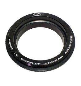 Moonlite MoonLite 2 1/2 inch 68mm thread to ESPRIT Adapter (Model 68mmtoESPRIT-Adapter)