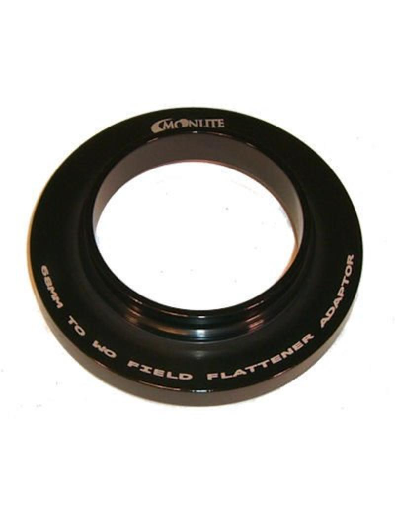 Moonlite MoonLite 2.5 inch 68mm thread to WO Field Flattener adapter (Model 68mmtoWOFF-adapter)