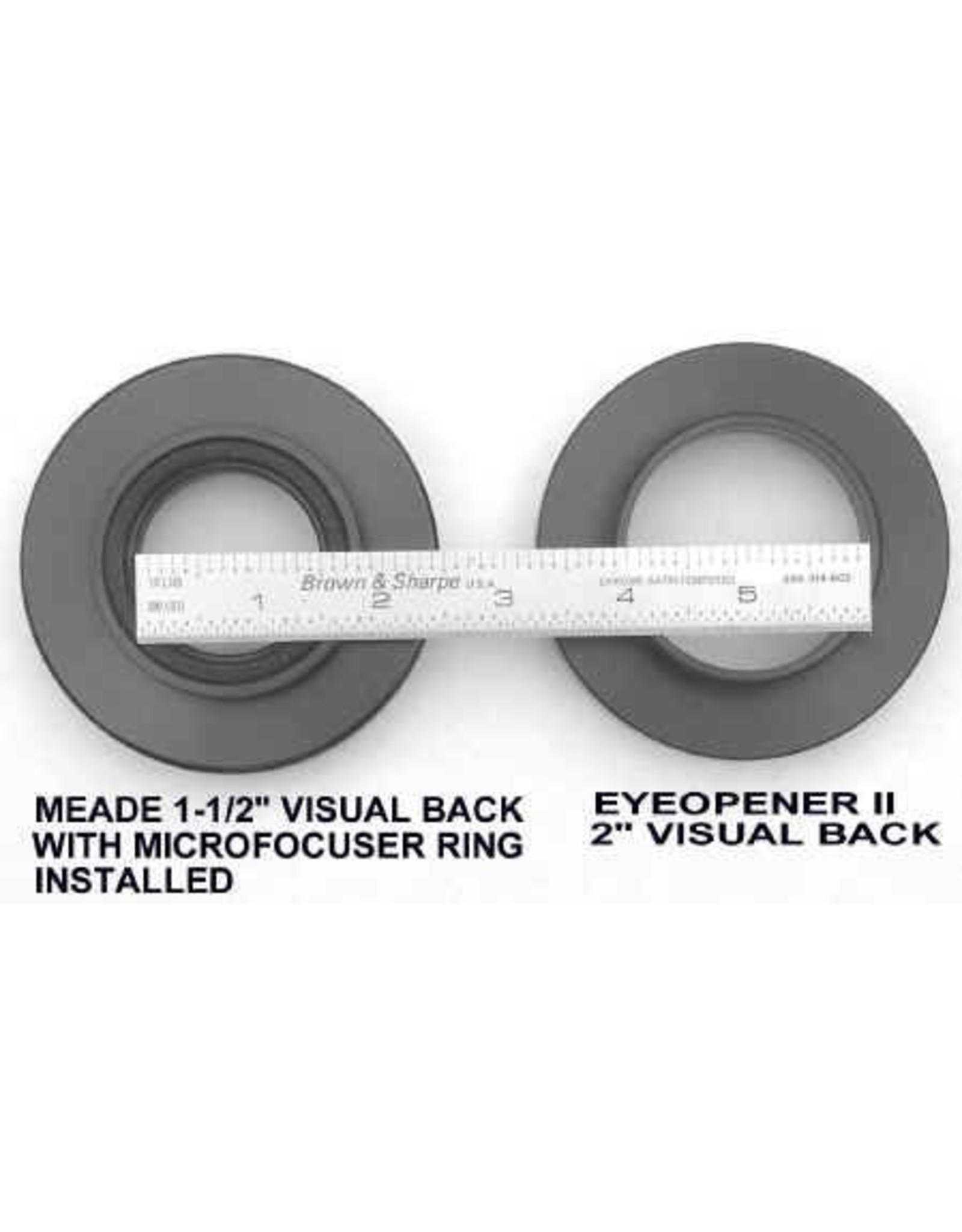 Peterson Engineering Peterson Engineering Eye Opener II 2 Inch Visual Back