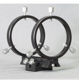 Stellarvue Stellarvue 50 - 60 mm Finder Rings - Mounts to SV Clamshells, Flat or Curved Surface - R050AT