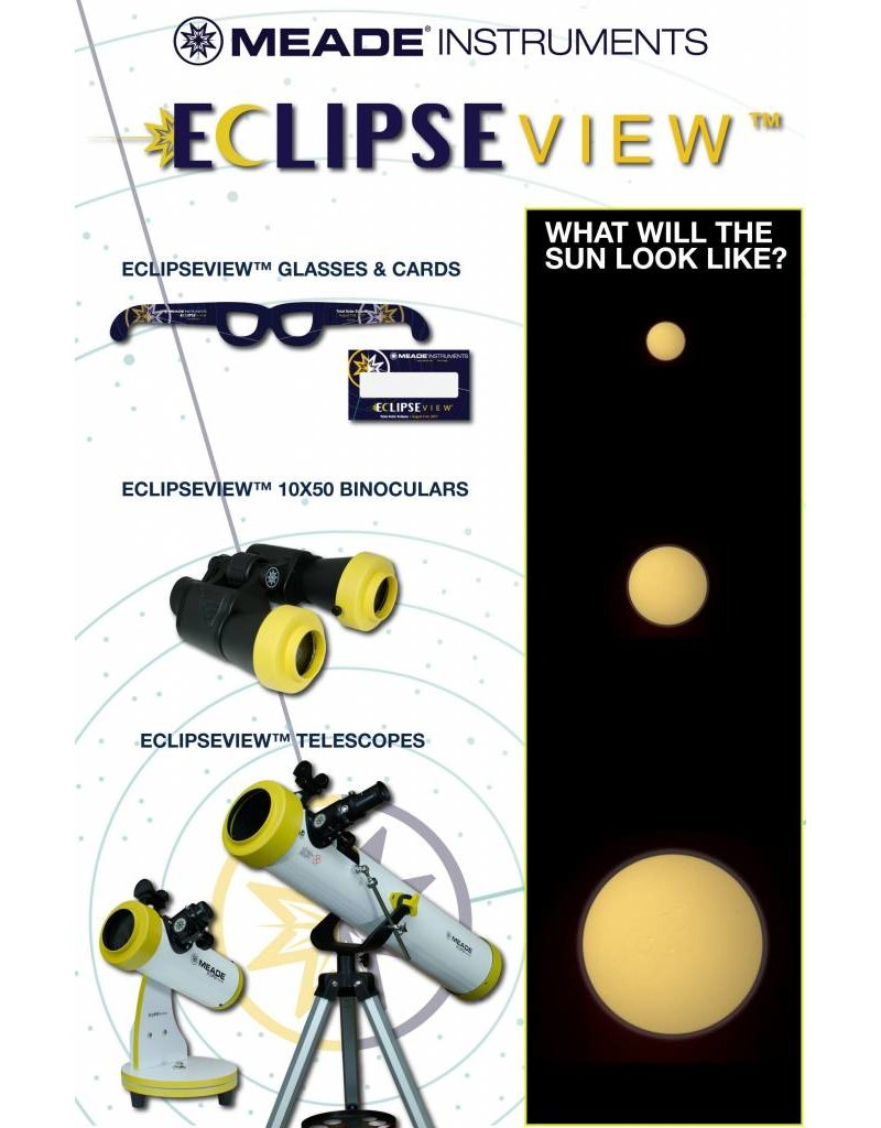 Meade Meade EclipseView 60mm Refracting Telescope with Solar Filter