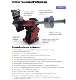 Software Bisque Paramount MX Robotic Telescope System