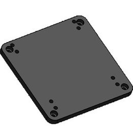 Software Bisque Paramount MX Pier to MyT Base Adaptor Plate