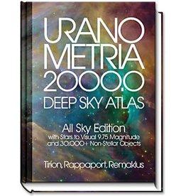 Uranometria 2000.0, All Sky Edition, Pole to Pole