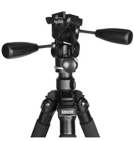 "Bower Bower VT6500 Heavy Duty 65"" Steady Lift series Tripod with ball head"