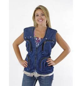 Photo Vest Blue Denim M (P-0040)