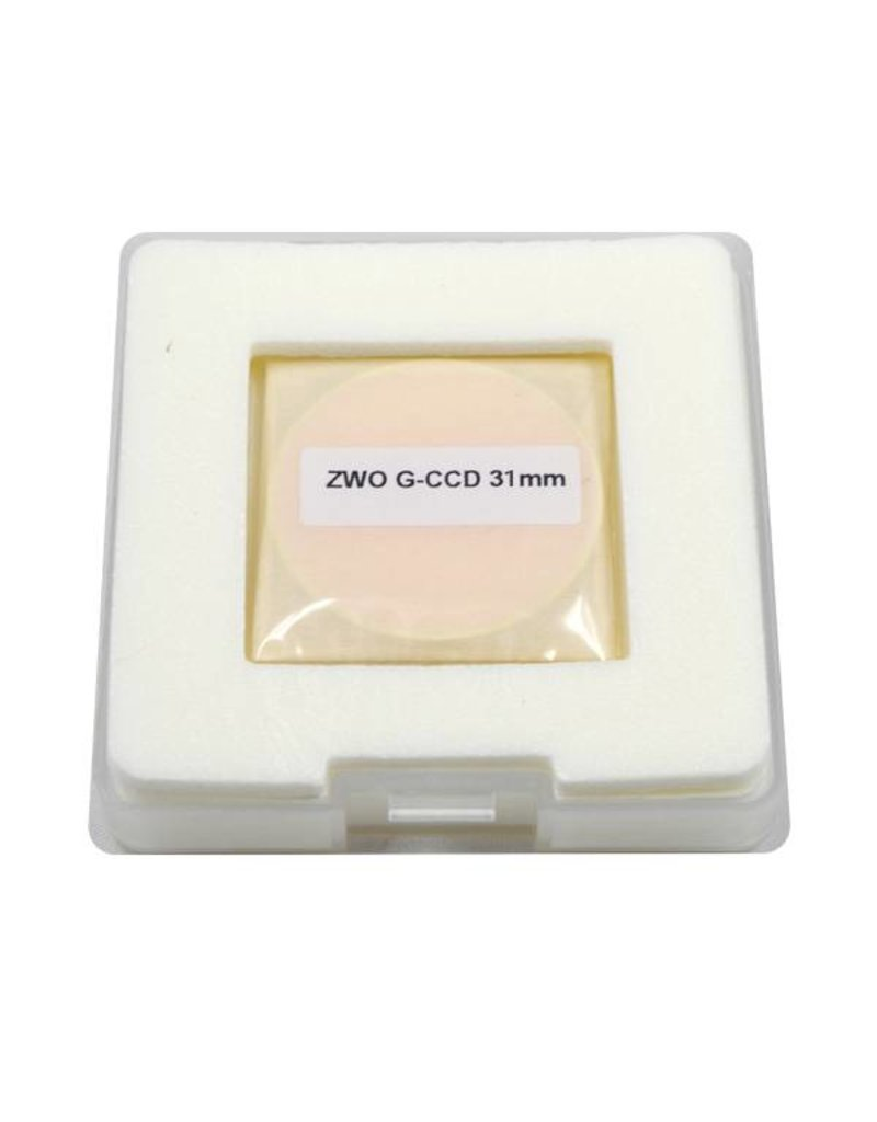 ZWO ZWO LRGB 31mm Premium Filter Set